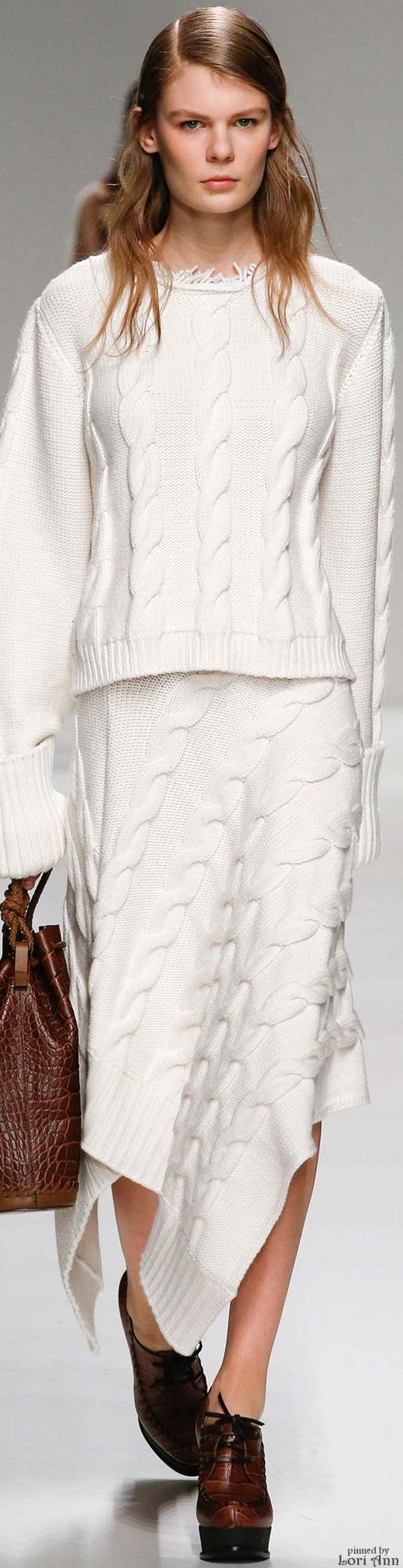 Sportmax Fall 2015 RTW Fashion Knitting