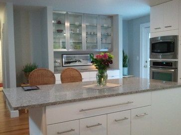 Cape elizabeth modern contemporary kitchen portland maine painted door design kitchen - Kitchen design portland maine ...