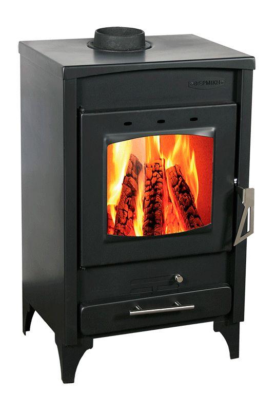 Estufa leña Thermiki, ir preparando las calefacciones para este invierno! estufa con potencia de 16kw, potencia calorifica para calentar 456m3
