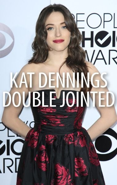 Kat Dennings is double-jointed, and she knew from a young age that she wanted to be an actor. Now she stars in the popular sitcom 2 Broke Girls on CBS. http://www.recapo.com/live-with-kelly-ripa/live-with-kelly-interviews/kelly-michael-kat-dennings-double-jointed-2-broke-girls-review/