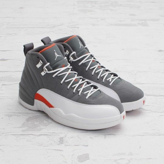 Air Jordan 12 Retro - Cool Grey / Team Orange (Now Available .