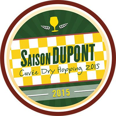 Untappd Badge: Saison Dupont Cuvee Dry Hopping 2015