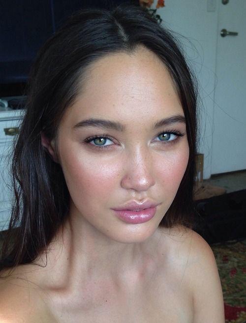 fresh, luminous skin and beautiful full lips