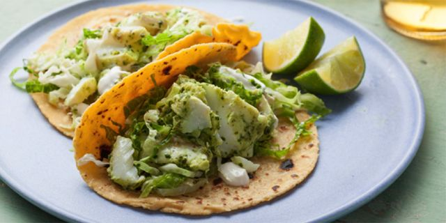 20 best fish taco recipes images on pinterest fish tacos for Halibut fish tacos