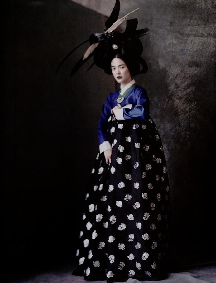 Vogue Korea Hanbok