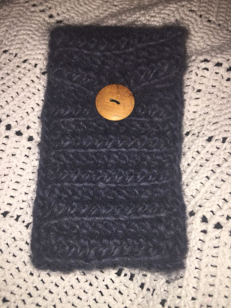 Crochet Wool iPhone 6 cover