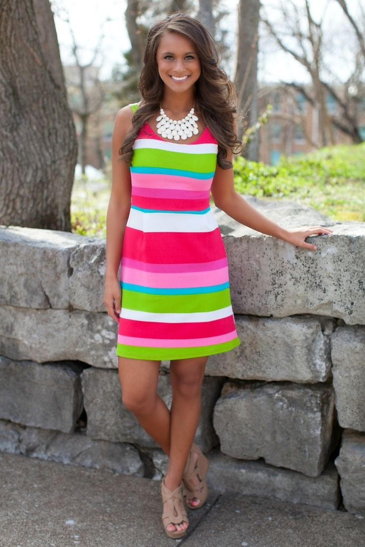 The Pink Lily Boutique - Derby Days Dress, $38.00 (http://thepinklilyboutique.com/derby-days-dress/)