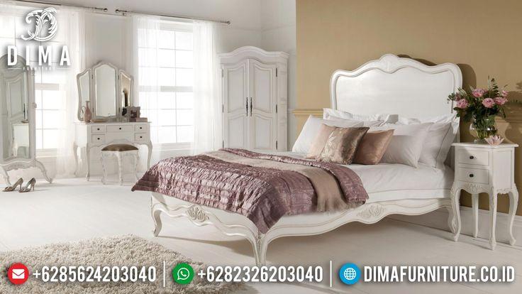 Kamar Set Minimalis, Tempat Tidur Minimalis Shabby, Set Kamar Tidur Mewah ST-0398