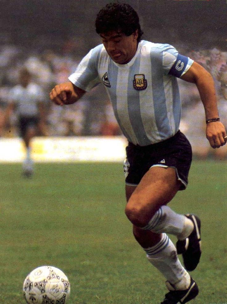 "Diego Maradonna - Argentinian, 1980s & early 1990s. Some consider to be the greatest midfielder. Known for his ""Hand of God"" goal, beating English keeper Peter Shilton in the 1986 World Cup. Payback for the Falklands War. Kidding."