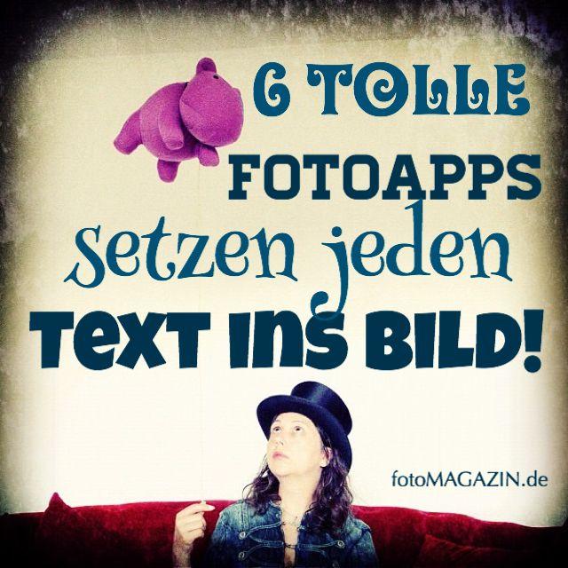 Mit diesen Text-FotoApps lassen sich tolle Grüße und Wünsche gestalten. Oder die eigenen Fotos schützen!
