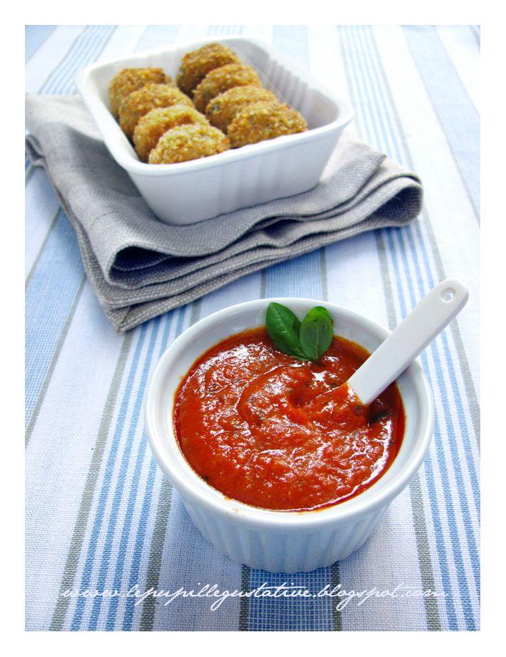 polpette di melanzane & ketchup casalingo