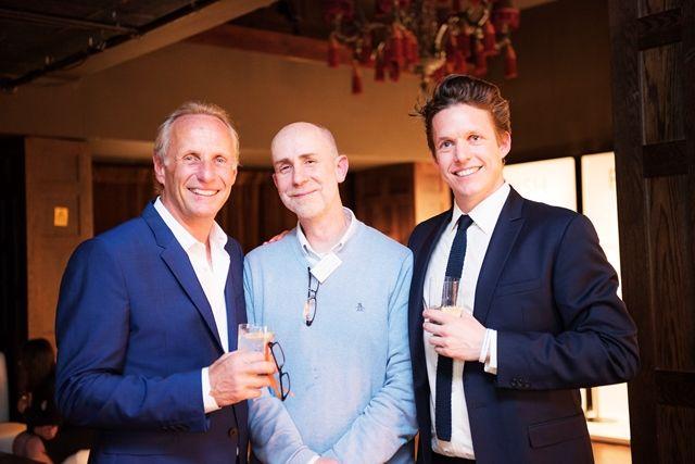 Robert & Will Chelsom with David from Hampton Design