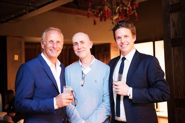 Robert & Will Chelsom with David from Hampton Design
