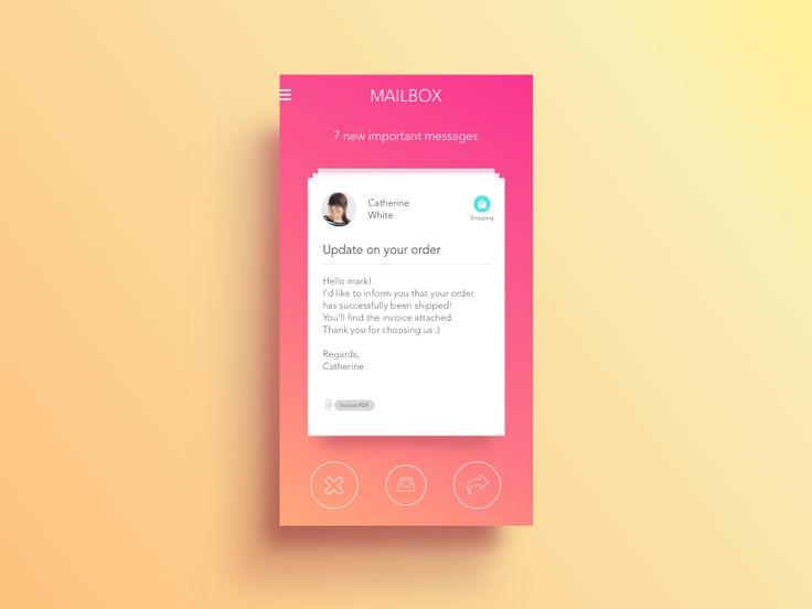 Email App by Alessio Nigido