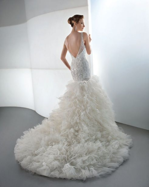 The Latest Demetrios #Wedding Dress Collection. To see more: http://www.modwedding.com/2013/09/30/latest-demetrios-wedding-dress-collection #weddingdress #weddingdresses