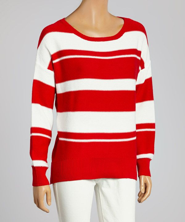 7 best Red And White Striped Sweater images on Pinterest | Striped ...