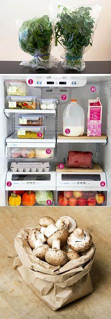 15 хитростей для долгого хранения продуктов | Мамам, женщинам, бабушкам и очень любознательным.