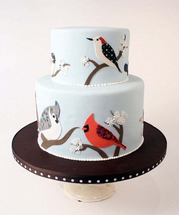 Fam S Cake Art Facebook : 1000+ images about Bird house and owl cakes on Pinterest ...