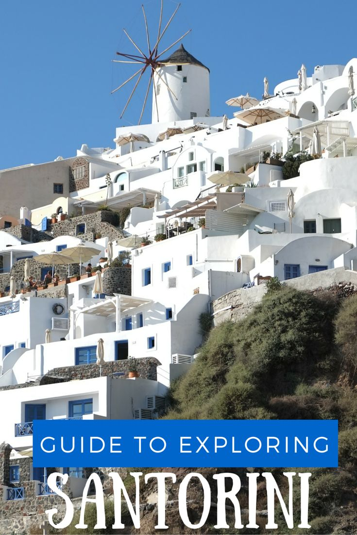 Heading to Santorini, Greece? Here is a basic guide for planning your trip to the Island of the Gods. Includes: information on what to do, see, and how to get around!