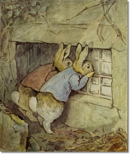 Beatrix Potter - The Tale of Mr. Tod - They Crept Up to the Bedroom Window