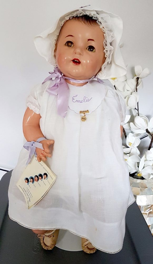 """Anitque Madame Alexander Composition Doll Dionne Quintuplet LARGE 24"""" Emelie 30s   Dolls & Bears, Dolls, By Brand, Company, Character   eBay!"""
