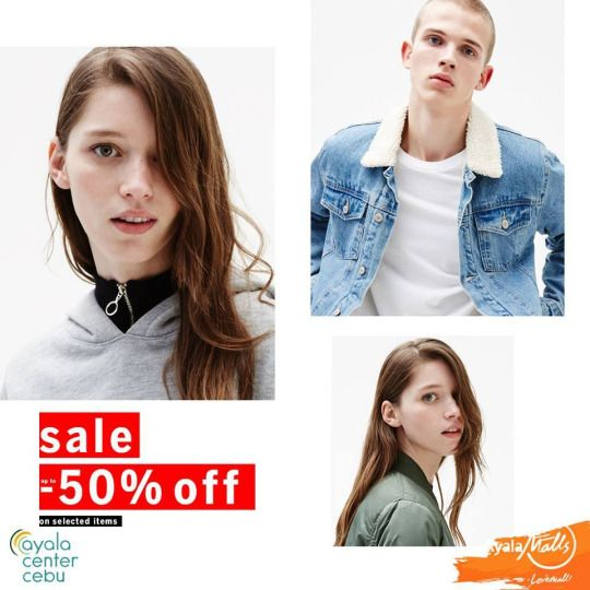 Rock 2017 by shopping at BERSHKA END OF SEASON SALE!   Score on great selection of items UP TO 50% OFF!  Make it a trendy new year and visit Bershka Store located at Ayala Center Cebu starting January 3, 2016!  For more promo deals, VISIT http://mypromo.com.ph/! SUBSCRIPTION IS FREE! Please SHARE MyPromo Online Page to your friends to enjoy promo deals!