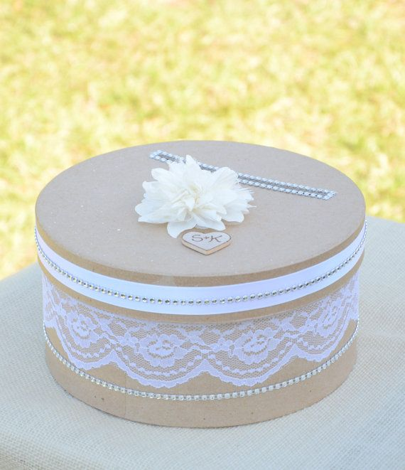 212 best Wedding Cake Card Box images on Pinterest | Boxes ...