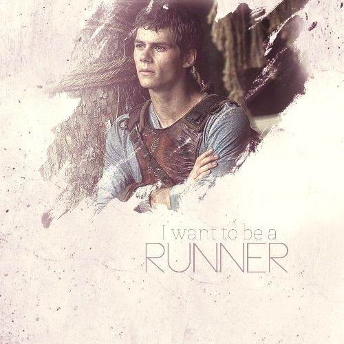 The Maze Runner movie. Dylan O'Brien as Thomas!! I'm so excited for the movie in general, but when I heard Dylan was playing Thomas I died, I LOVE Dylan O'Brien!!