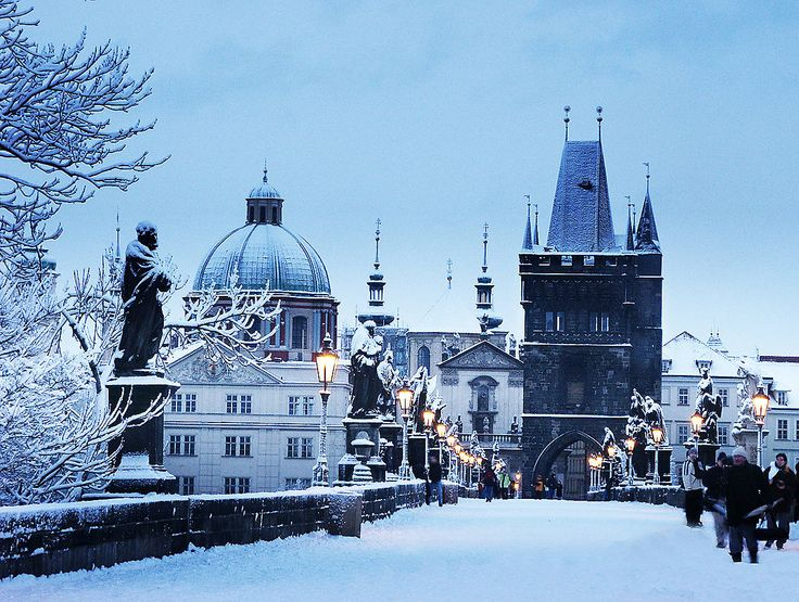 Winter Prague