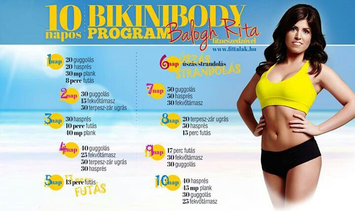 Balogh Rita-BikiniBody program