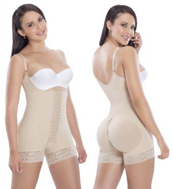 Fajas Colombianas post surgery post partum on Powernet firm control - Beige - Large MariaE. $65.30