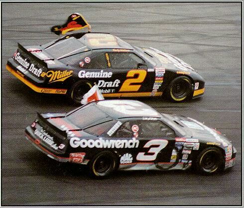 Dale Earnhardt, and Rusty Wallace tribute to Alan Kulwicki - Atlanta Rusty won the race but lost the war Earnhardt won the championship