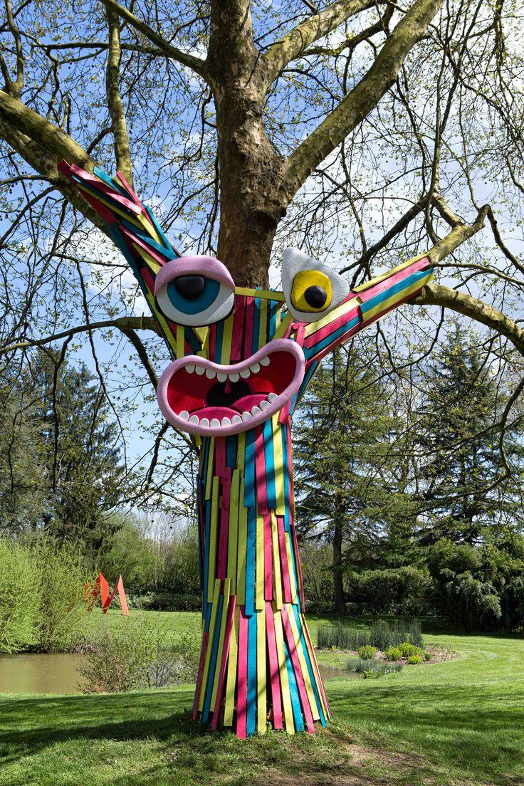 Les 25 meilleures id es de la cat gorie arbres peints sur for Art jardin creation