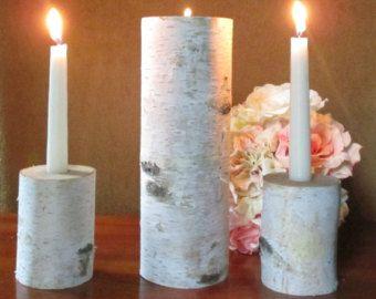PRECIOSA vela de unidad de novia en Perla marfil por PureBeautyArt