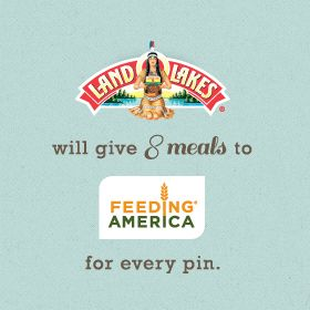 Help fight hunger with Land O'Lakes and Feeding America when you repin one of our recipes. Learn more at www.landolakes.co....