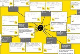 Tijdens surfen op internet met 1 klik citaten en internetbronnen verzamelen. De tool presenteert je verzamleing als een mindmap rondom een centrale vraag. Proefaccount