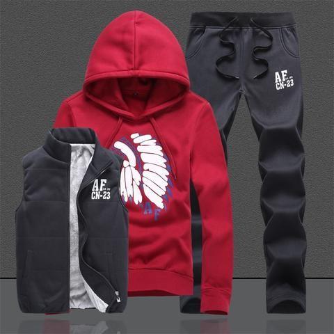 01f2ae608cc xxxxl hoodies sweatshirt men hoodies men tracksuit jacket vest pants men  clothing set Sportswear suit Jogger