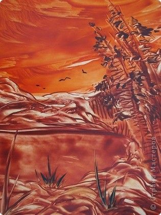 Картина, панно, рисунок Энкаустика: ЭНКАУСТИКА-ВОСКОВАЯ ЖИВОПИСЬ Воск. Фото 10