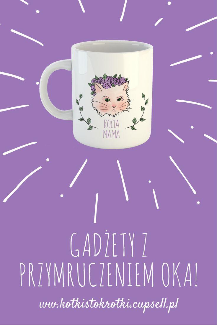 #mug #kubek #napis #gift #ideas #pomysł #prezent #kot #cat #kitten