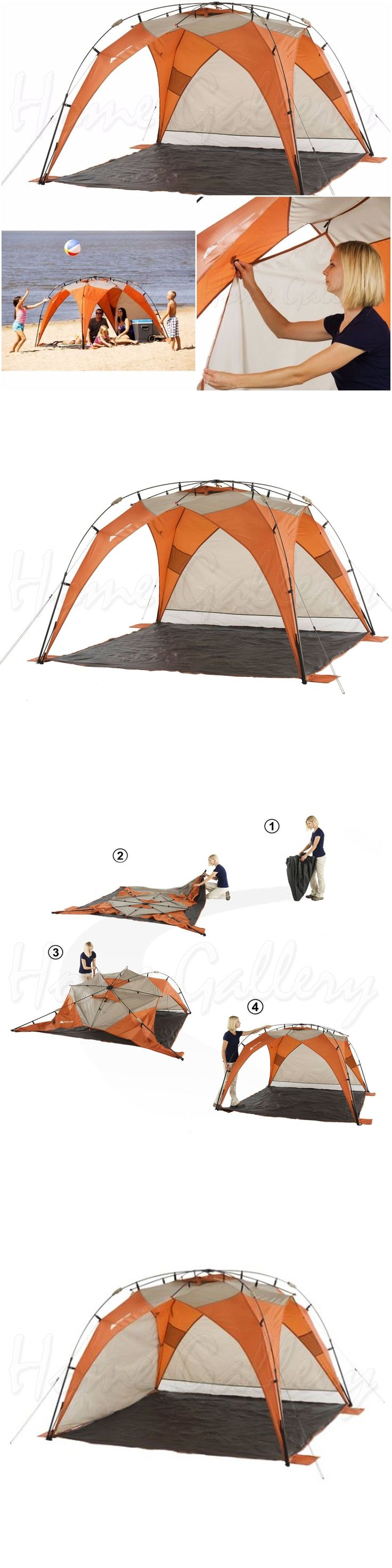 Canopies and Shelters 179011: Ozark Trail Sun Shade Portable Tent 8X8 Instant Beach Outdoor Shelter Camping -> BUY IT NOW ONLY: $76.4 on eBay!