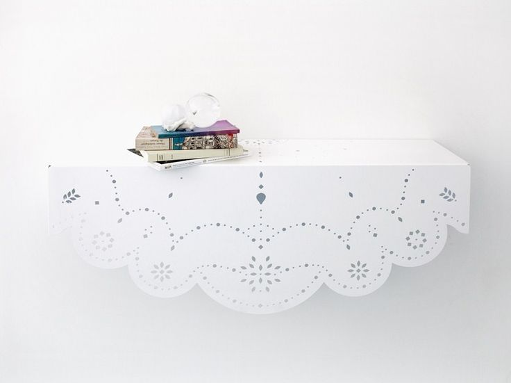 Metal wall shelf CHANTILLY by Moustache design Cocktail Designers