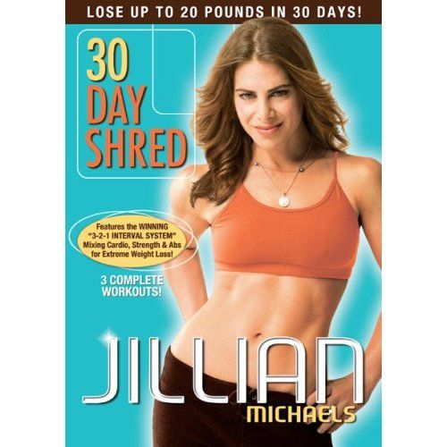 Review of Jillian Michaels' 30 Day Shred DVD (Level 1, 2 & 3)