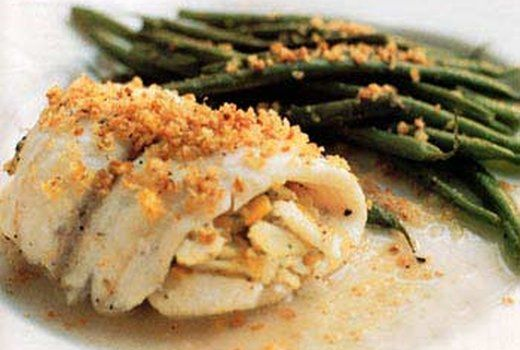 Stuffed Filet Of Sole Tender Sole Baked With A Moist