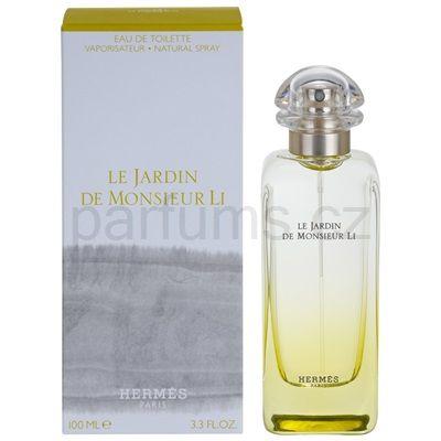 Hermés Le Jardin De Monsieur Li toaletní voda  Kč 1854,- / 100ml - unisex ☺