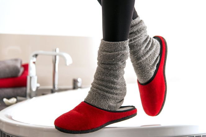 The New Kind of Socks Keeping from Slipping