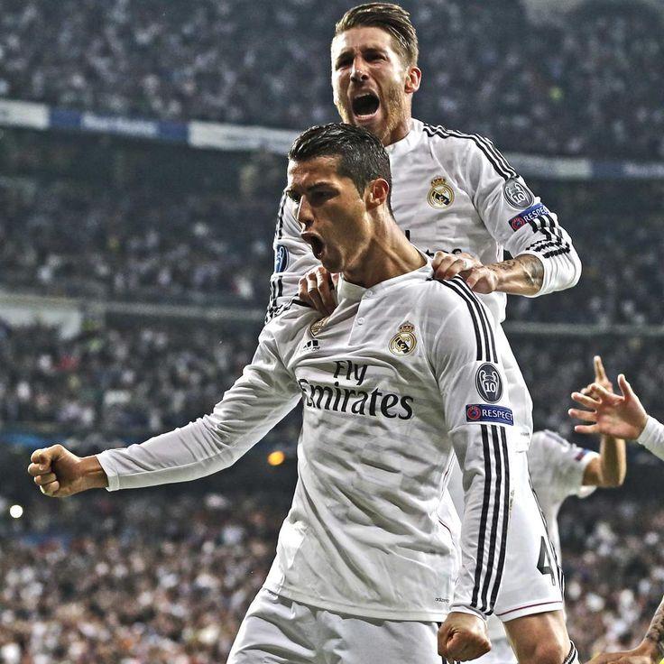 Sergio Ramos and Cristiano Ronaldo CR7 - Derbi #UCL - Real Madrid vs Atlético de Madrid