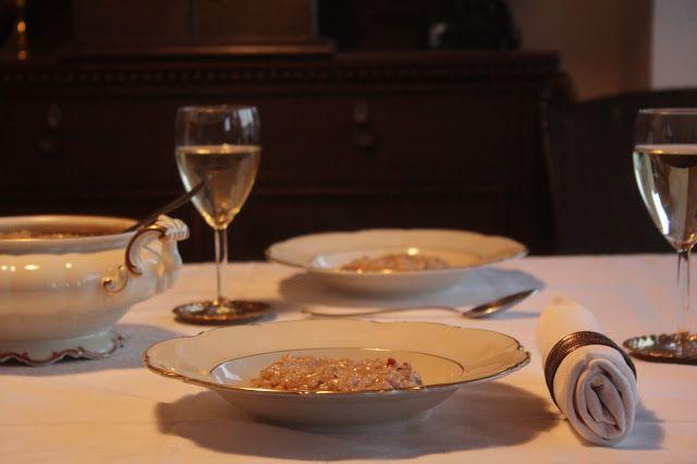 Risotto mit Gorgonzola und Birne Cremig, köstlich, würzig ‒ Risotto wie es sein soll!