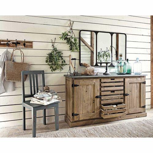 17 b sta id er om armoire maison du monde p pinterest - Ou trouver des caisse en bois ...