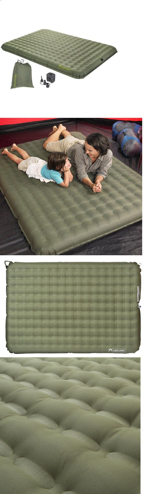 Camping Sleeping Pad - Mattresses and Pads 36114: Backpacking Sleeping Pad 2 Person Outdoor Camping Air Bed Mat Inflating Mattress -> BUY IT NOW ONLY: $98.72 on eBay!