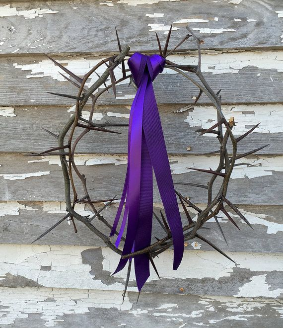 Real Crown of Thorns for Easter Sunday Service by LocustGroveDecor